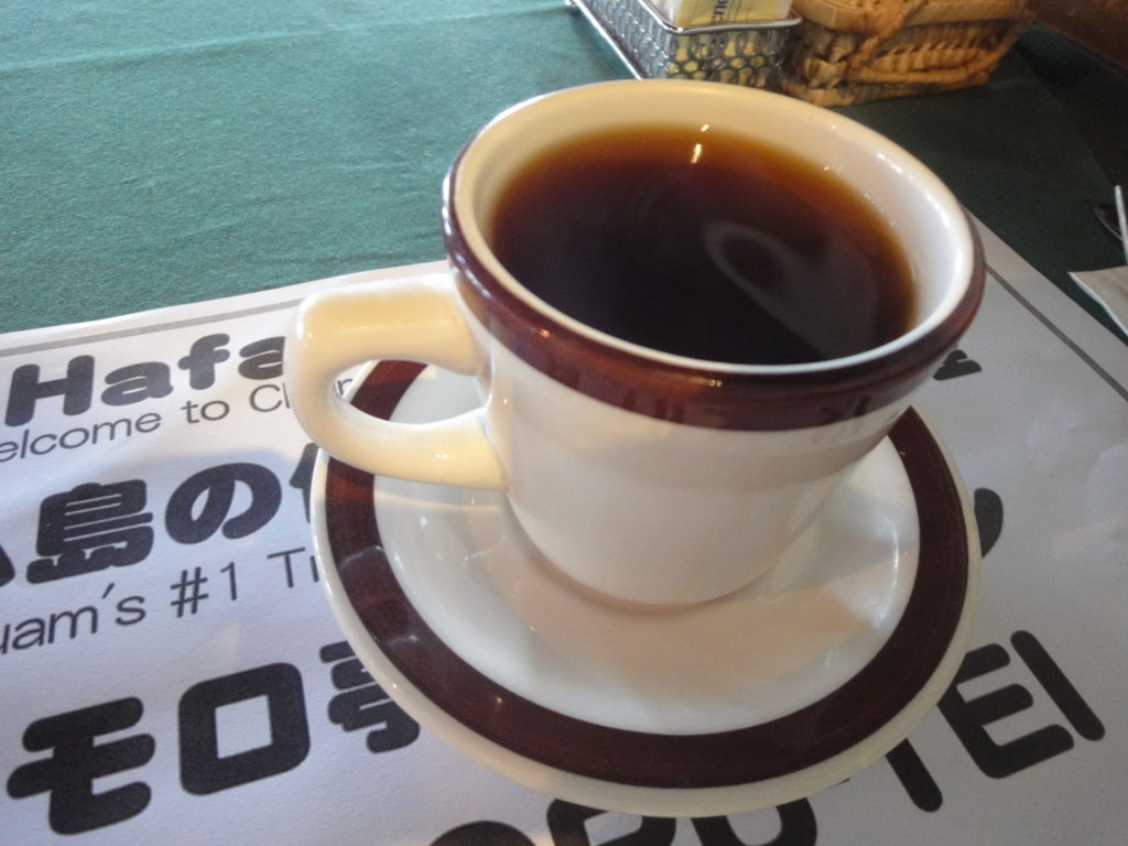 チャモロ亭@グアムのコーヒー