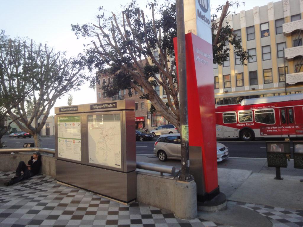 ハリウッド・ウエスタン駅