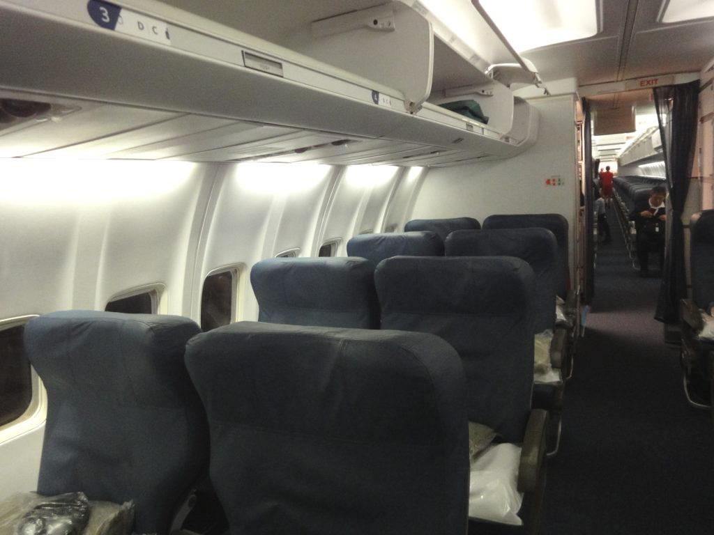 デルタ航空B757ビジネスクラス