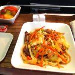 デルタ航空 ビジネスクラスの食事