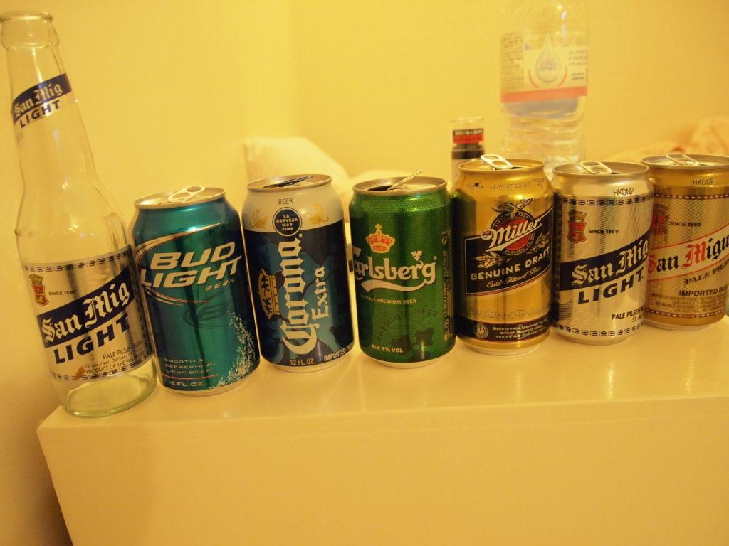 飲んだビール