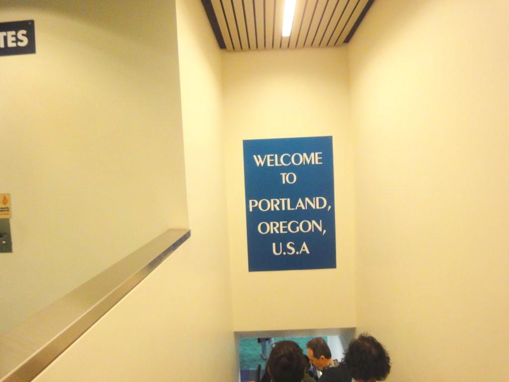 WELCOME TO PORTLAND,OREGON,U.S.A