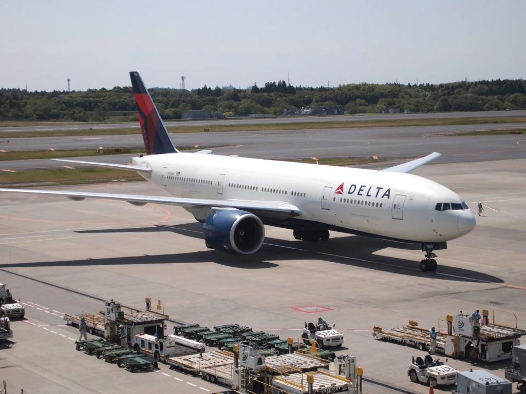 デルタ航空 ボーイング777