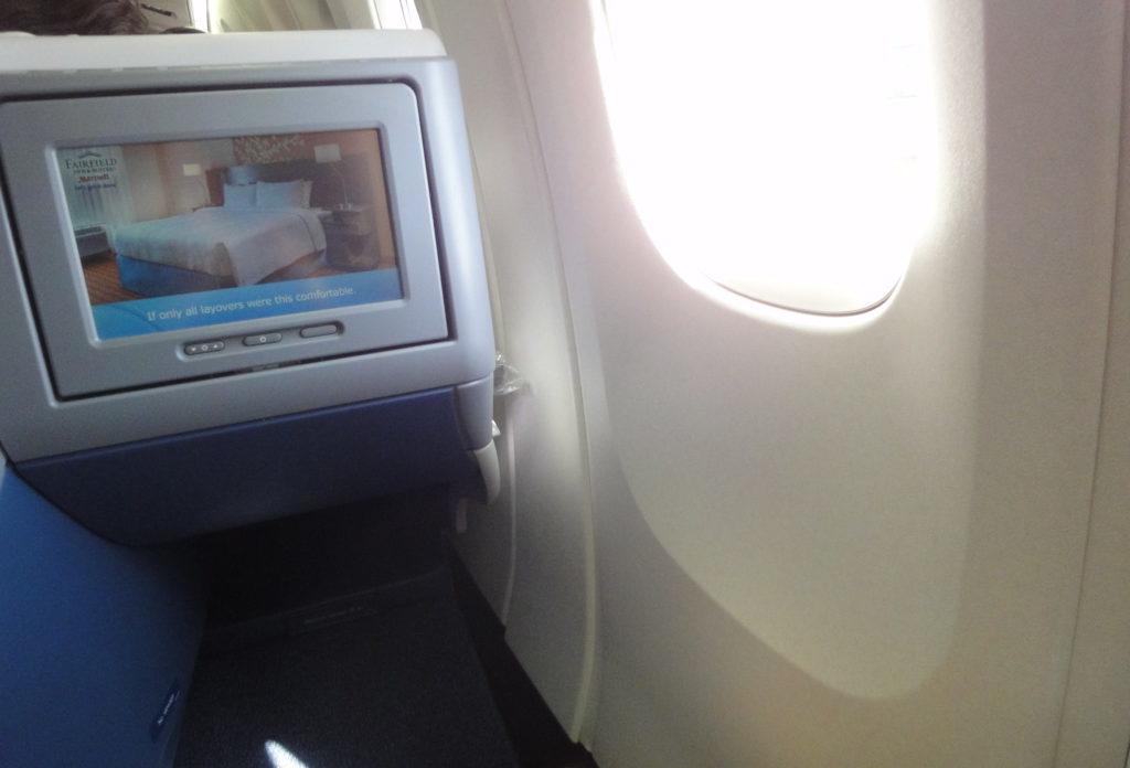 デルタ航空 ビジネスクラスの座席